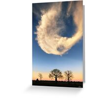 A Kimberley Skyscape Greeting Card
