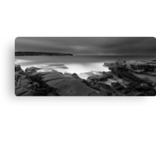 Long Bay Exposed Canvas Print