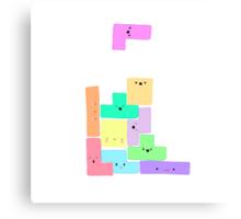 Tetris! Canvas Print