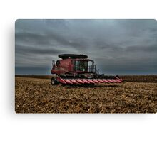 12 Row Head Canvas Print