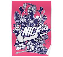 is nice be to me Poster