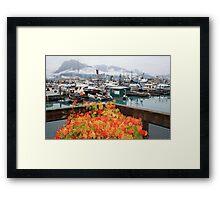 Flowers in Valdez Framed Print