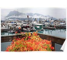 Flowers in Valdez Poster