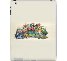 Pokemon: Evolved Starters iPad Case/Skin