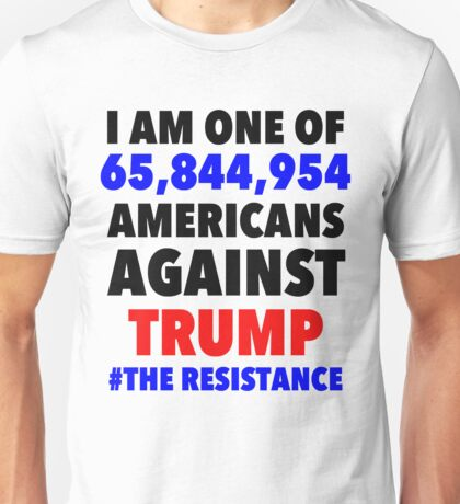 Americans Against Trump Unisex T-Shirt