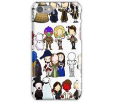 Doctor Who all together now iPhone Case/Skin