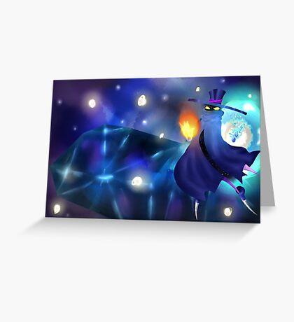 Mr. Dark 2 Greeting Card