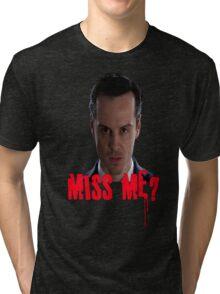 Sherlock ~ Moriarty: Miss Me? Tri-blend T-Shirt