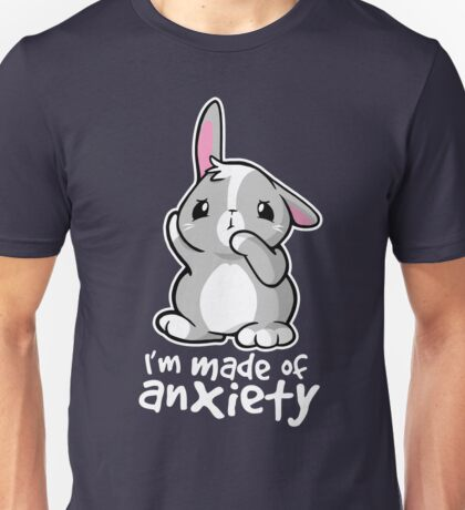 Bunny anxiety Unisex T-Shirt
