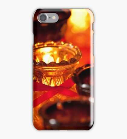 Candles in Penang iPhone Case/Skin