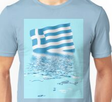 Greek flag  Unisex T-Shirt