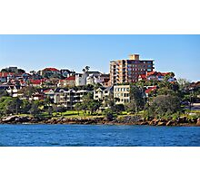 Harbour Homes, Sydney Photographic Print