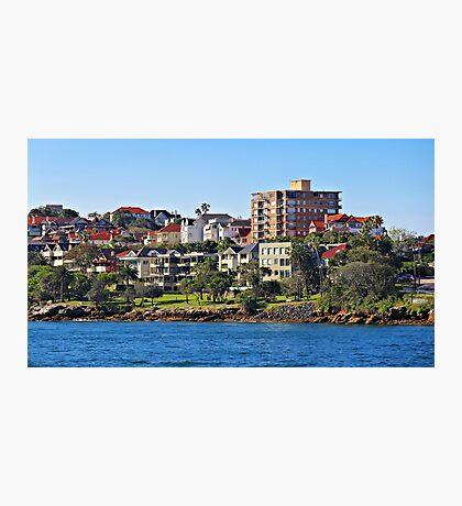 Harbour Homes, Sydney Photographic Print