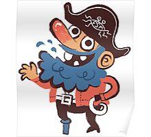 Cap'n Bluebeard Poster