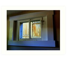 Through The Basement Window Art Print