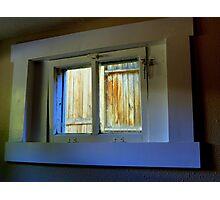 Through The Basement Window Photographic Print