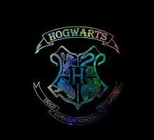 Hogwarts Crest Nebula by brightestwitch