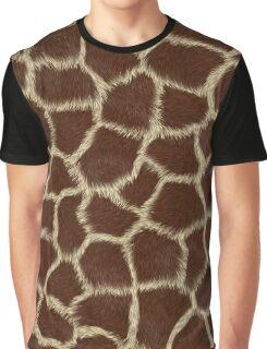 Giraffe Skin print Graphic T-Shirt