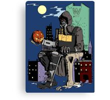 Scarecrow's Long Halloween - Batman: Arkham Knight Canvas Print