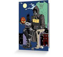 Scarecrow's Long Halloween - Batman: Arkham Knight Greeting Card