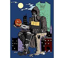 Scarecrow's Long Halloween - Batman: Arkham Knight Photographic Print