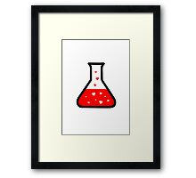 Love Potion (Science) Framed Print
