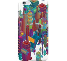 the color city iPhone Case/Skin