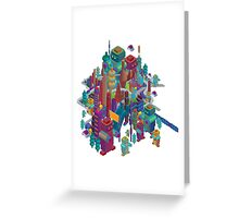 the color city Greeting Card