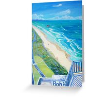 From Surfers Paradise the Gold Coast Queensland from High Surf Greeting Card