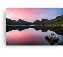 Pink Cradle at Dawn Canvas Print