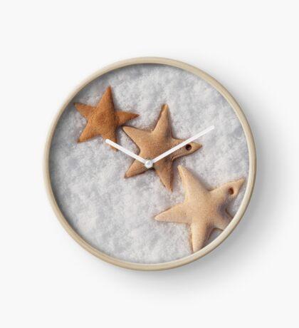 Christmas stars cookies  Clock