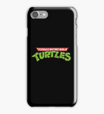 Teenage mutant ninja turtles! iPhone Case/Skin