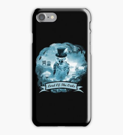 Lord of the Owls iPhone Case/Skin