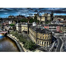 Newcastle Skyline Photographic Print