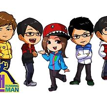 Running Man T shirt by kadal