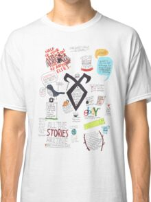 The Mortal Instruments collage Classic T-Shirt