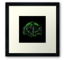 Born in the Darkness Bane Framed Print