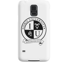 Idris University (light-based) Samsung Galaxy Case/Skin