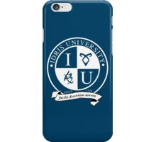Idris University (dark-based) iPhone Case/Skin