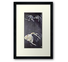 Hands of the Puppeteer Framed Print