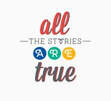 "The Mortal Instruments: ""All the stories are true"" Womens Fitted T-Shirt"