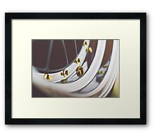 BBS LM with Gold Bolts and Polished Lips Framed Print