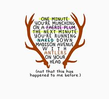 """The Mortal Instruments: """"Antlers (Don't Order Any of the Faerie Food)"""" T-Shirt"""