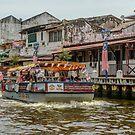 River Boat by Werner Padarin