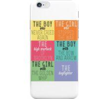 The Mortal Instruments: Descriptions iPhone Case/Skin