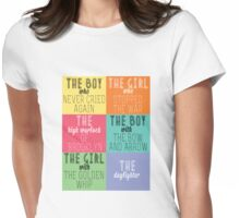 The Mortal Instruments: Descriptions Womens Fitted T-Shirt