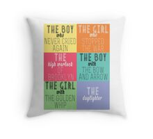 The Mortal Instruments: Descriptions Throw Pillow