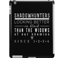 "The Mortal Instruments: ""Shadowhunters"" iPad Case/Skin"