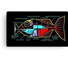 Babel fish Canvas Print