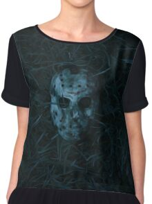 Friday the 13th Chiffon Top